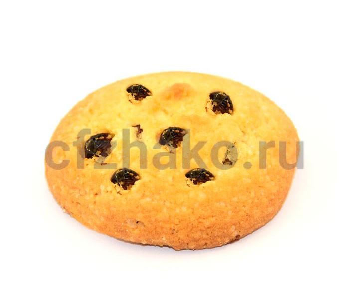 Печенье сдобное с изюмом