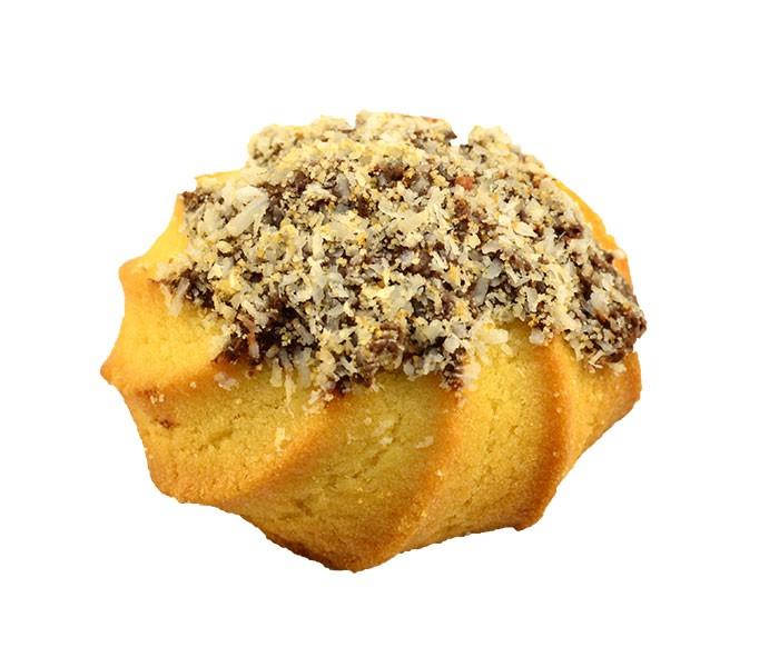 Печенье сдобное с кокосом